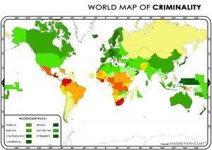 World Criminality Map 2017